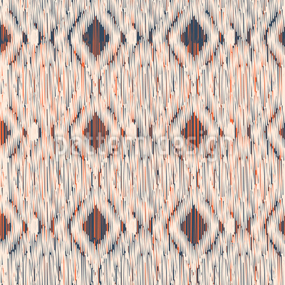 Traditionelles Ikat Nahtloses Muster