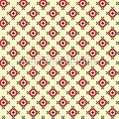 Pixel Erinnerungen Rapportiertes Design