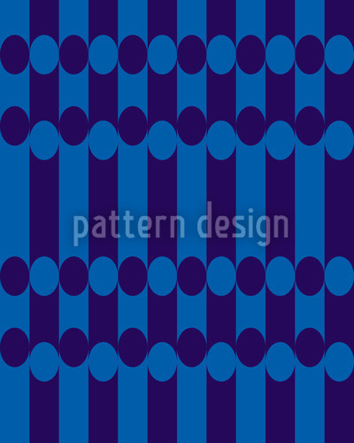 Elypso Blue Vector Pattern