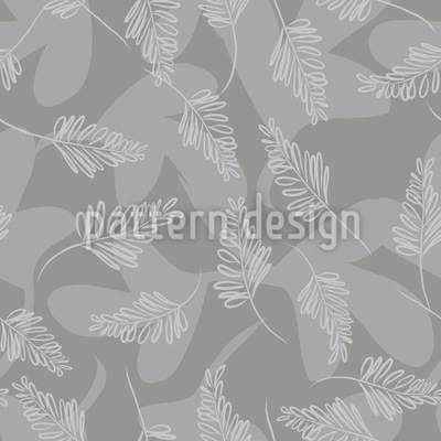Forest Thunder Seamless Pattern