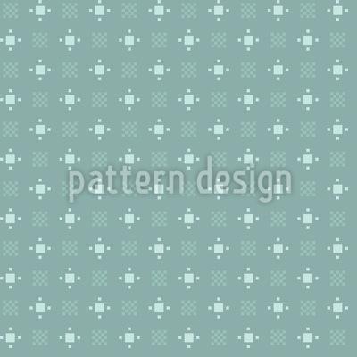 Pixel-Garten Vektor Ornament