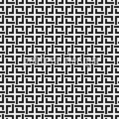 Quadratische Falten Musterdesign