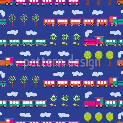 Tschu Tschu Eisenbahn Vektor Design