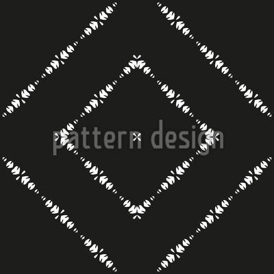 In Ornamentalen Linien Rapportiertes Design