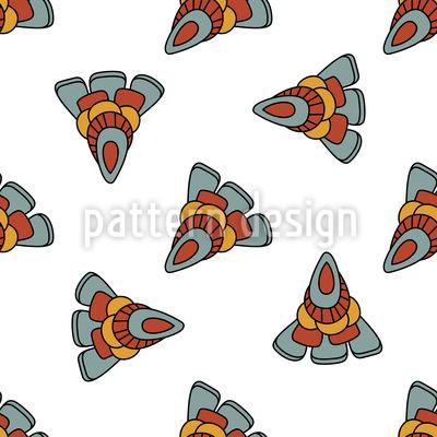 Fee Ornamente Muster Design