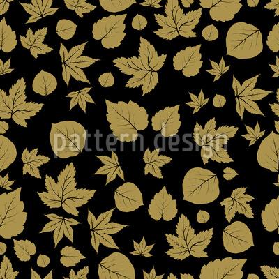 Wald-Blätter Vektor Ornament