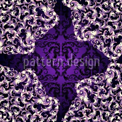 Barock Spitze Muster Design