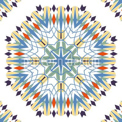 Künstlich Gewachsen Muster Design