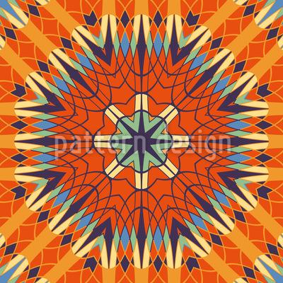 Von Künstlicher Schönheit Muster Design