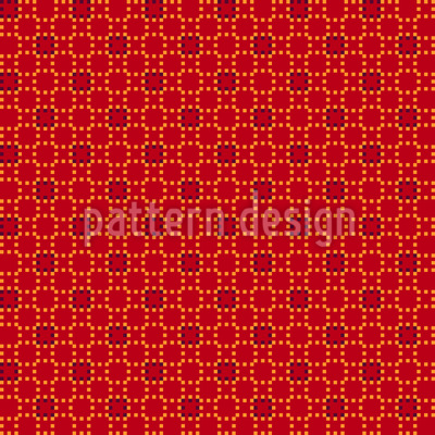 Verbundene Pixel Muster Design