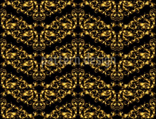 Königliche Wellen Vektor Ornament