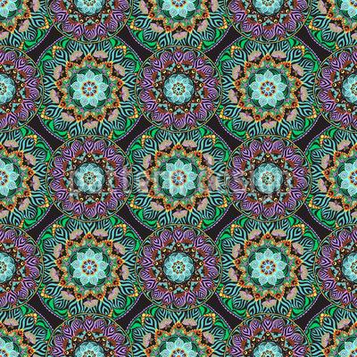 Mandala Blüten Vektor Design