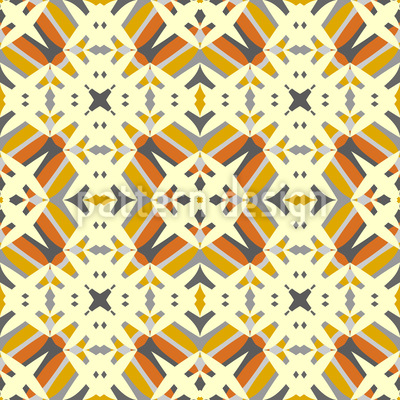 Geortnete Formen Nahtloses Vektor Muster