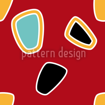 The Graphic Sixties Seamless Pattern
