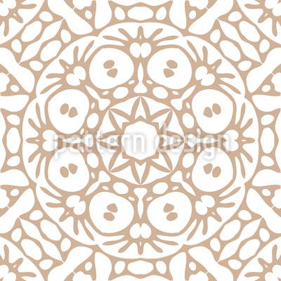 Rosetten Silhouette Vektor Ornament