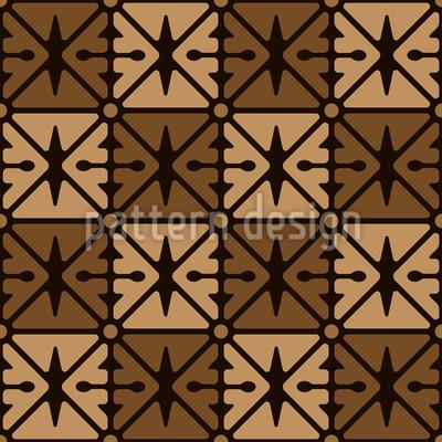 Quadrille Sieht Alles Nahtloses Muster