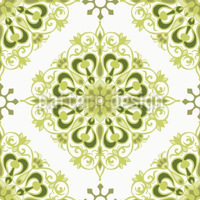 万華鏡の印象 シームレスなベクトルパターン設計