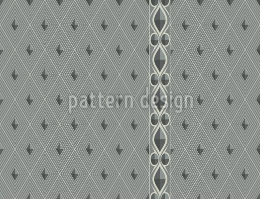 Diamant Harlekin Rapportiertes Design