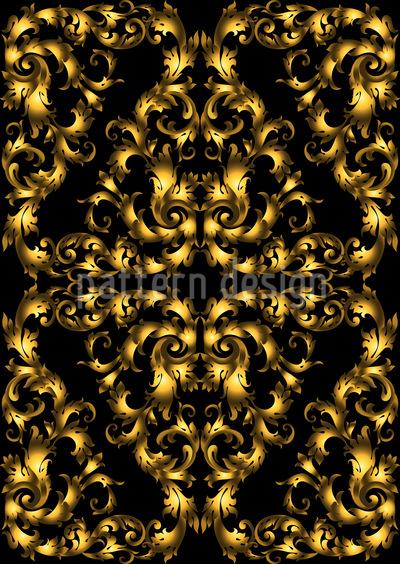 Royal Splendor Seamless Vector Pattern Design