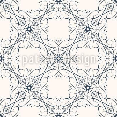 Atomare Eleganz Muster Design