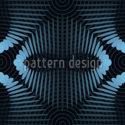 Tiefe Frequenzen Nahtloses Muster