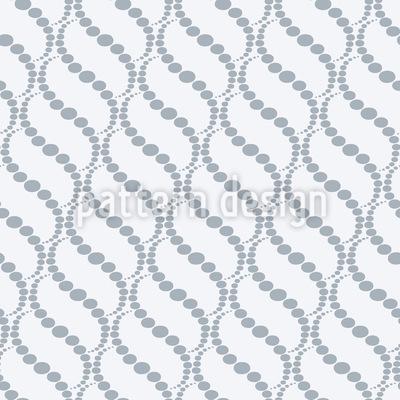 Wellige Punkte Grau Nahtloses Vektor Muster