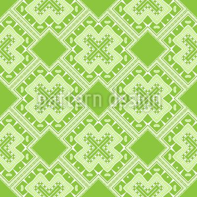 Natur-Kreuz Muster Design