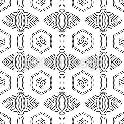 Grafische Ordnung Nahtloses Muster