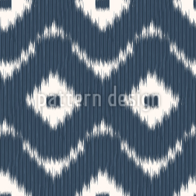 Bali Ikat Design de padrão vetorial sem costura