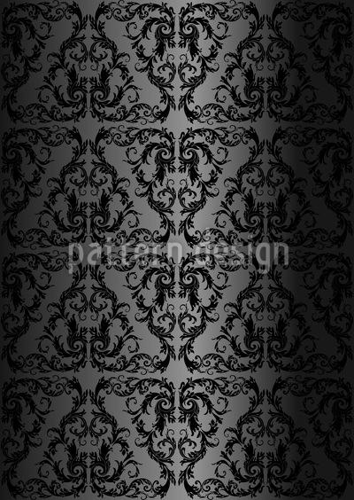 Gotische Spitze Rapportiertes Design