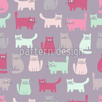 Hey da Kätzchen Rapportiertes Design