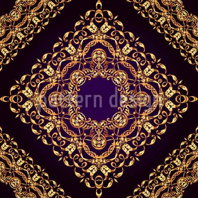Königliche Geometrie Nahtloses Vektormuster