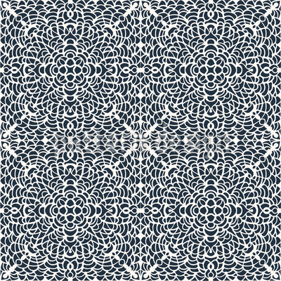 Lace-Tiles Seamless Vector Pattern Design