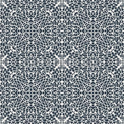 Spitzen-Kacheln Muster Design