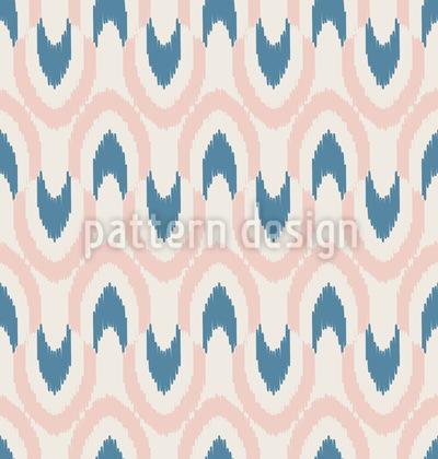 Ikat-Wellen Designmuster
