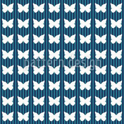 Tiefwasser-Schmetterling Nahtloses Muster