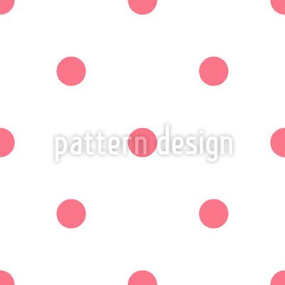 Sonho de bolinhas Design de padrão vetorial sem costura