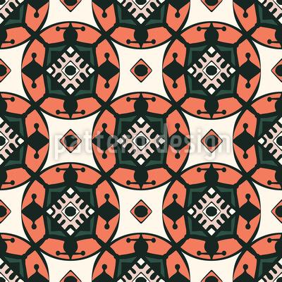 Ethno Schilder Muster Design