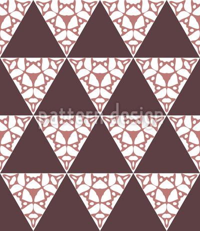 Dreiecke Rauf Und Runter Vektor Ornament