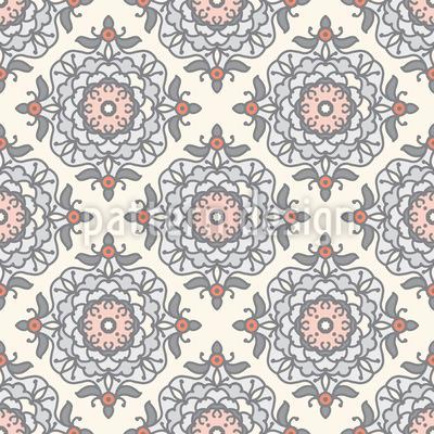 Eleganz Der Blumen Vektor Muster