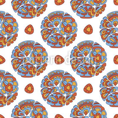 Maya Traum Nahtloses Muster