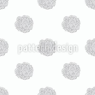 Einfache Nelken Nahtloses Vektor Muster
