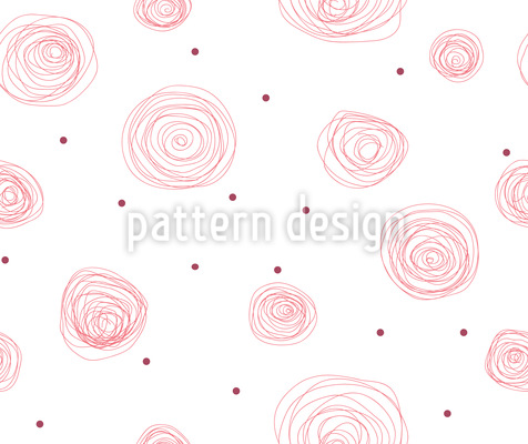 Circle of Roses Vector Design