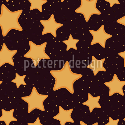 Weihnachtliche Stern Plätzchen Rapport