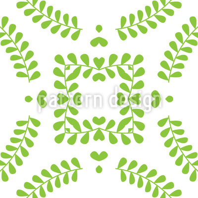 Romantic Spring Seamless Pattern