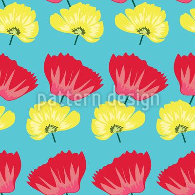 Gepresste Frühlingsblüten Vektor Design