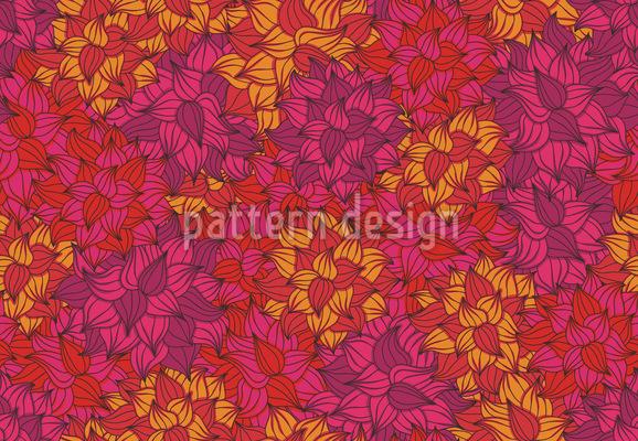 Splendid Bloom Seamless Vector Pattern