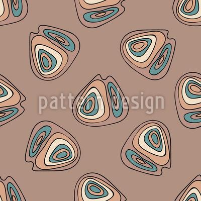 Organische Formen Vektor Muster