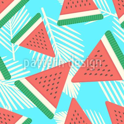 Frische Wassermelone Vektor Design