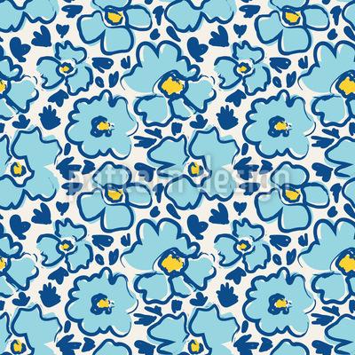 Meeres-Blüte Designmuster